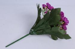 искусственное растение - примула фуксия h=28cm