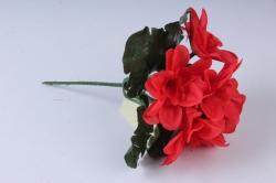 Искусственное растение - Примула махровая 20 см красная