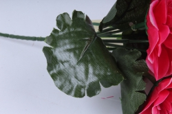 искусственное растение - примула махровая 20 см малиновая