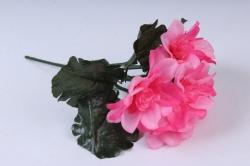 Искусственное растение - Примула махровая розовая 20 см