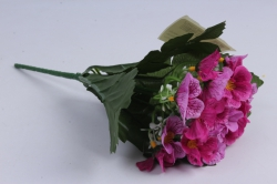 Искусственное растение - Примула малиновая h=28cm