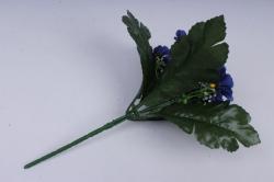 искусственное растение - примула синяя h=28cm