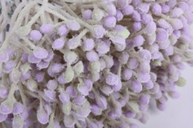 искусственное растение - пупавка сиреневая (6 шт в уп) 153м