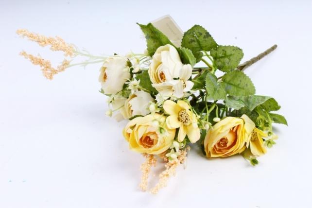 Искусственное растение -  Ранункулюс жёлтый  (Т)