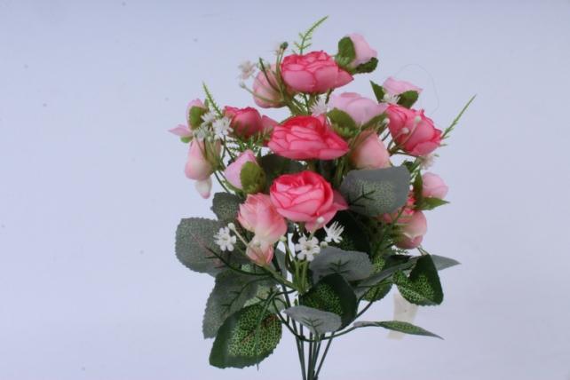 Искусственное растение - Ранункулюс нежно-розовый