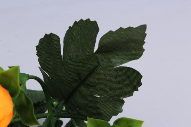 искусственное растение - ранункулюс оранжевый h=30cm