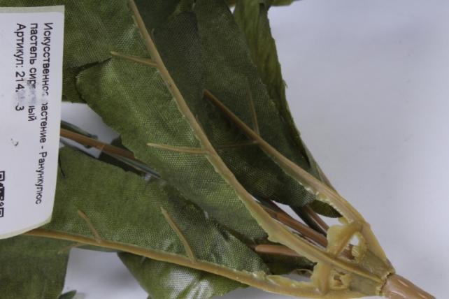 искусственное растение - ранункулюс пастель сиреневый 26см