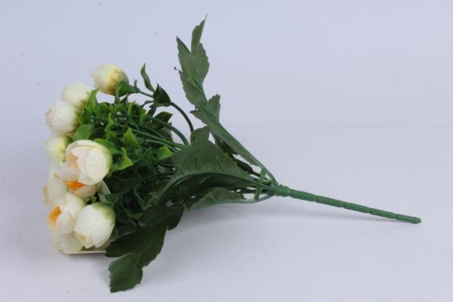 искусственное растение - ранункулюс шампань h=30cm