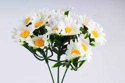 Искусственное растение -  Ромашка мелкая (4 шт в уп) В10967