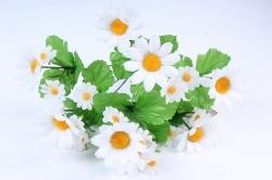 Искусственное растение -  Ромашки 9 веток  Б9724