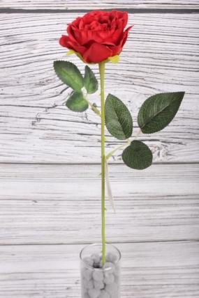 Искусственное растение -  Роза 50 см красная 9KL8791