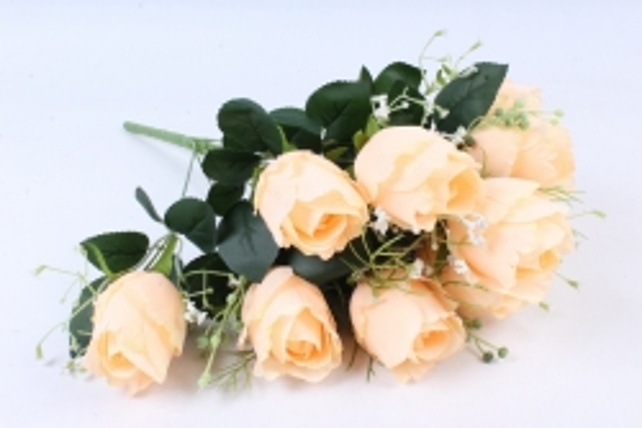 Искусственное растение -  Роза Вена кремовая  Б9719
