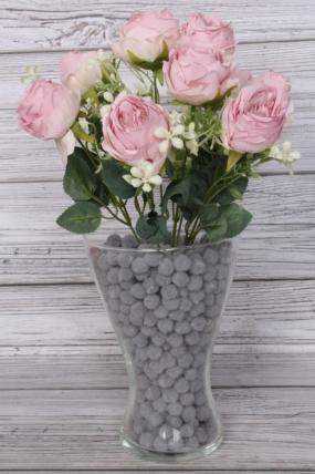Искусственное растение -  Розы пастельные пудровые