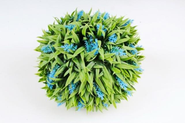 Искусственное растение -  Шар из лаванды  Д10633