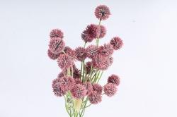 Искусственное растение -  Шарик-колючка брусничный  Б10963