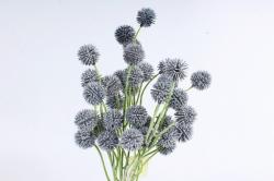 Искусственное растение -  Шарик-колючка серый Б10963
