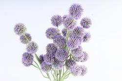 Искусственное растение -  Шарик-колючка сиреневый  Б10963