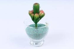 Искусственное растение -  Суккулент Филлокактус