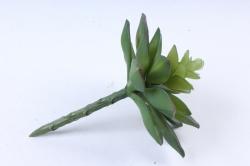 Искусственное растение -  Суккулент Молодило зелёное  Э10304
