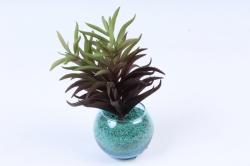Искусственное растение -  Суккулент Седум мексиканский коричневый  Э10316