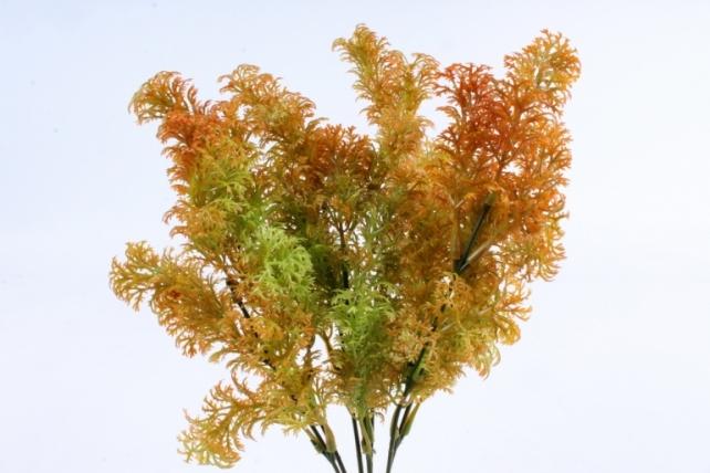 Искусственное растение -  Тисс хвойный оранжевый  Б10360