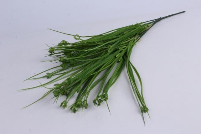 Искусственное растение- Трава  с побегом зеленая 40см (2шт в уп) AVA203-2   2730