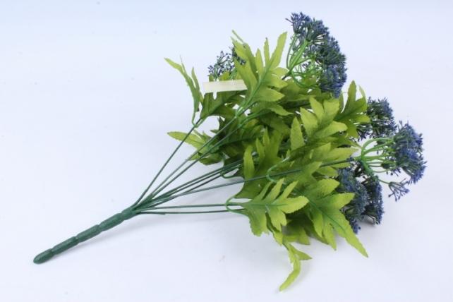 Искусственное растение -  Укроп пышноцветный синий Б9286