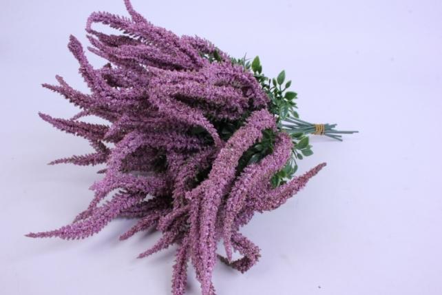 Искусственное растение - Вероника 20см фиолетовая (12 штв уп) 5297