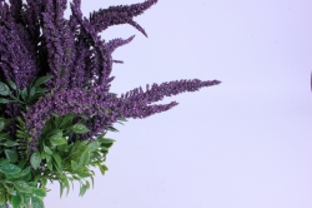 искусственное растение - вероника 20см пурпурная (12 штв уп) 5297