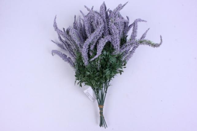 искусственное растение - вероника 20см сиреневая (12 штв уп) 5297