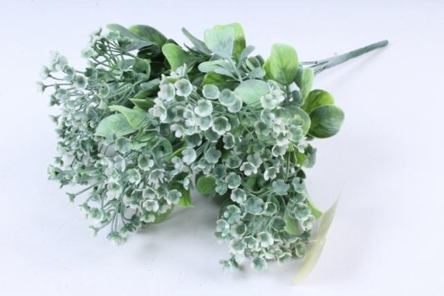 Искусственное растение -  Ветка Барбариса белая Б9574
