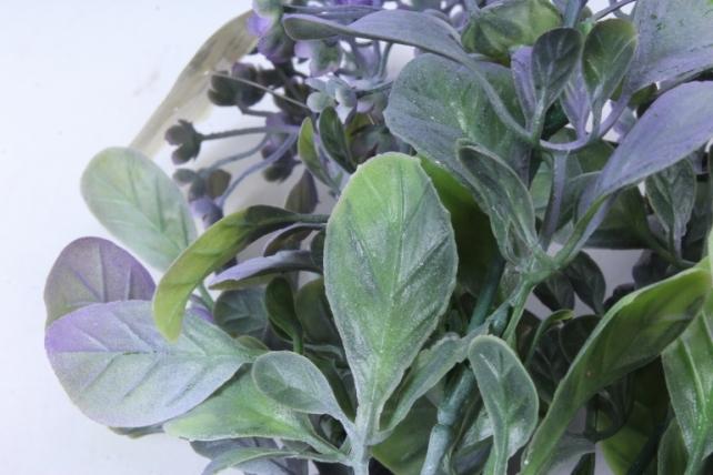 Искусственное растение -  Ветка Барбариса сиреневая  Б9574