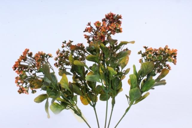 Искусственное растение -  Ветка Барбариса терракотовая  Б9574