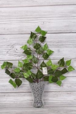 Искусственное растение -  Ветка берёзы 60 см В2419