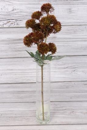 Искусственное растение -  Ветка декоративная терракот 43 см 76-11777