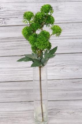 Искусственное растение -  Ветка декоративная зелёная 43 см 76-11777