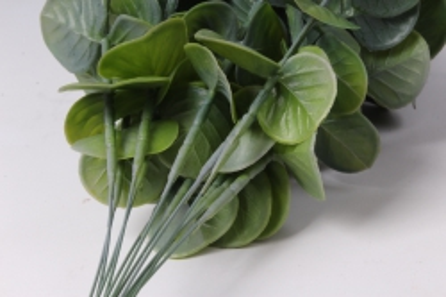 искусственное растение - ветка эвкалипта сиреневая 30см  (12 шт в уп)  tik058