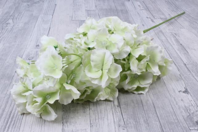 Искусственное растение - Ветка Гортензия Нежно-салатовая    KWL879    6528