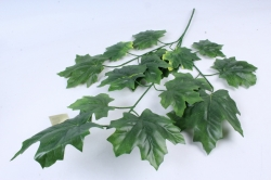 Искусственное растение -  Ветка Клён зелёный  В10327