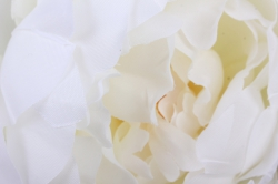 искусственное растение - ветка пиона 110 см белая sun117