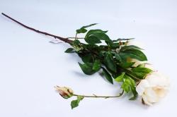 Искусственное растение - Ветка Пиона 110 см шампань SUN117