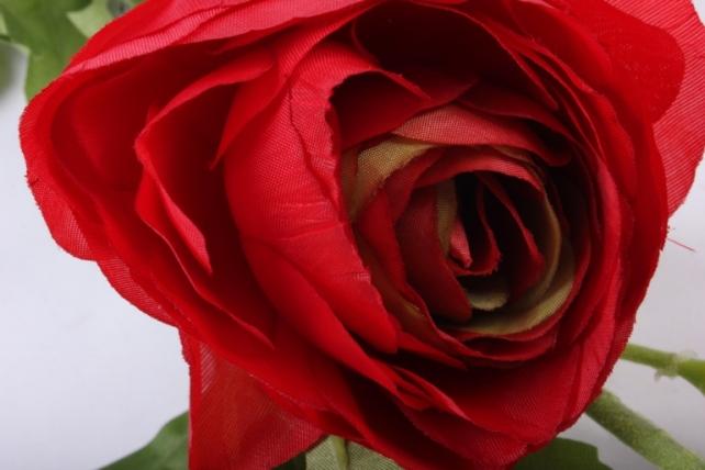 искусственное растение - ветка ранункулюс красный sun311 h=73cm