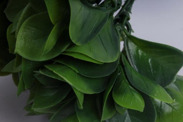 искусственное растение- ветка зеленая 23см  (6шт в уп)  ga7b0055  1278