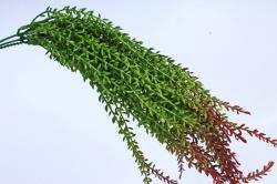 Искусственное растение- Ветка зелено-коричневая  (3шт в уп)  GAB185  8092