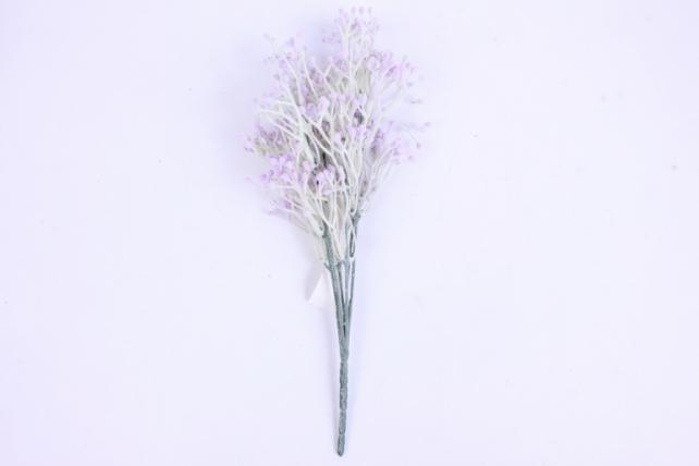 искусственное растение - веточка декоративная сиреневая 2109