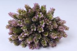 искусственное растение - веточка хмеля розовая  (12 шт в уп) 7099
