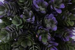 искусственное растение - веточка хмеля сиреневая 20см (12 шт в уп) 7099