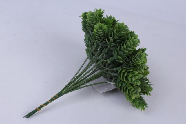 Искусственное растение - Веточка Хмеля зеленая (12 шт в уп) 7099