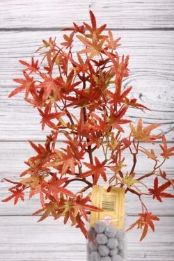 Искусственное растение -  Веточка клёна карликового38 см*20 см рыжая  21KW075