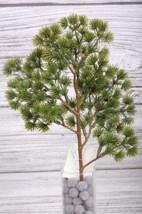 Искусственное растение -  Веточка пихты корейской оливковая  43 см* 20 см  21KW083
